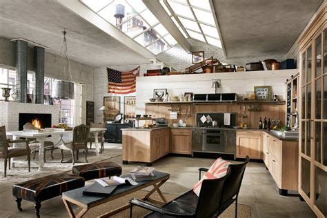 cuisines vintage 18 industrial style designs decorating ideas design