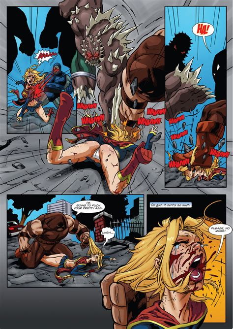 Supergirls Last Stand Page 11 By Anon2012 Hentai Foundry