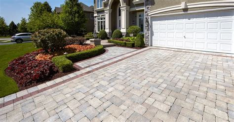 Pavers For Contrasting Color And Texture For Your Hamilton