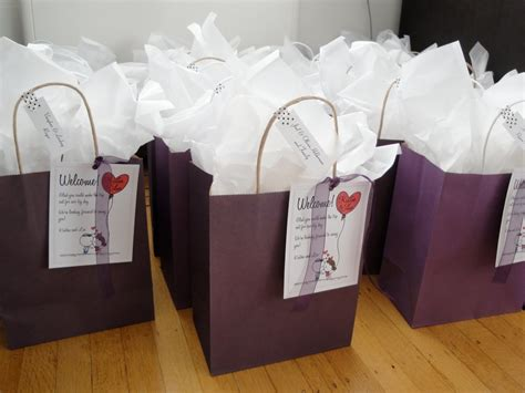 10 cute wedding hotel gift bag ideas 2019