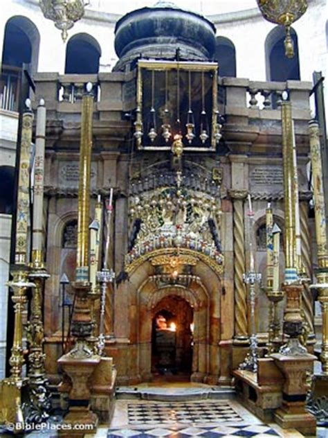 Church of the Holy Sepulcher (BiblePlaces com)