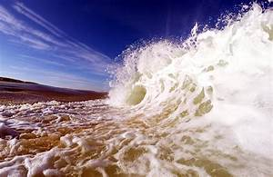 Beaches, Waves, Sea, Sky, Clouds, Blue, Water, Nature, Landscapes, Earth, Sand, Foam, Wallpapers