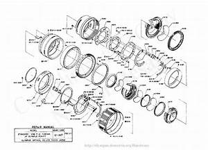 Olympus 42mm F1 2 Exploded Parts Diagram Service Manual