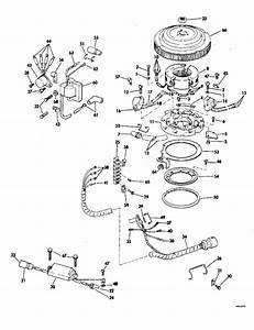 Johnson Ignition System Parts For 1980 60hp J60elcsr Outboard Motor