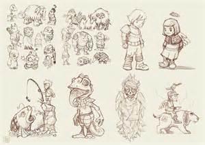 Graffiti Characters Sketches