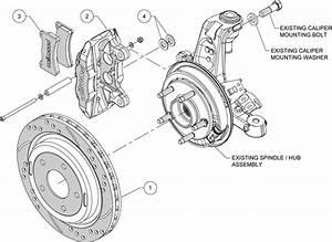 Wilwood Disc Brake Kit Rear 97