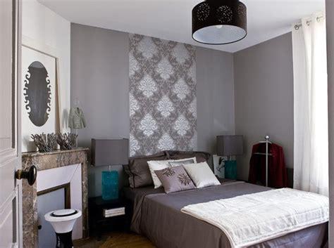 chambre d h es au fil de l eau décoration chambre papier peint et peinture