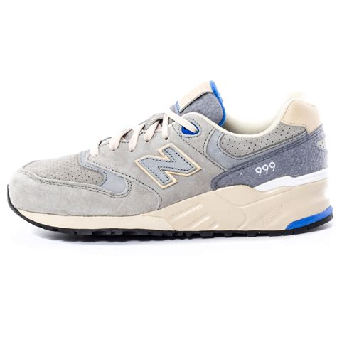 New Balance 999 Woolly Mammoth Mens Suede Light Grey Trainers