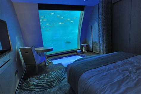 5 photographs of bedroom underwater you should spend time to stay