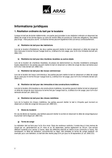 modele de lettre de préavis 1 mois exemple lettre resiliation bail 2 mois document