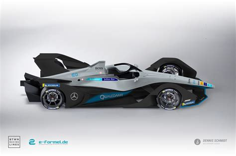 E Car by Exclusive Livery Concepts On New Formula E Car Between