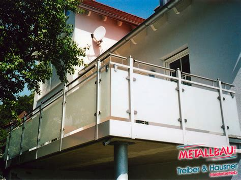balkongeländer aluminium pulverbeschichtet metallbau treiber hausner balkongel 228 nder edelstahl stahl alu beschichtet