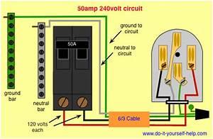 Wiring A 240 Volt Breaker