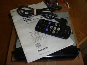 Fs  Sony Xplod Es Cdx-m630 W  Remote