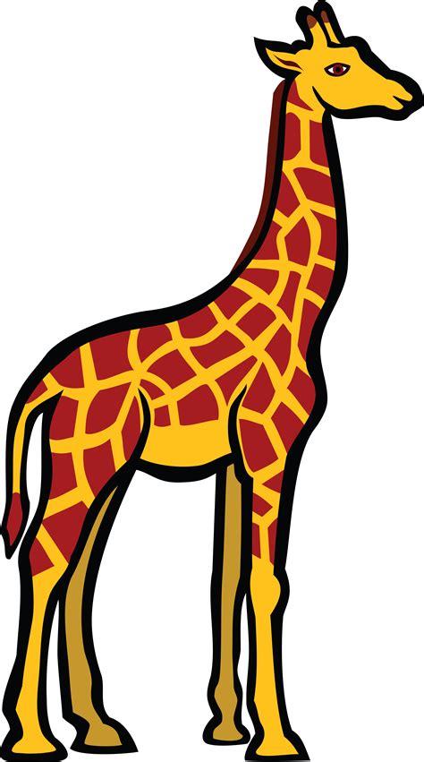 Giraffe Clip Clipart Giraffe Pencil And In Color Clipart Giraffe