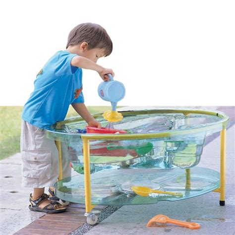 water table for kids transparent sand water table w lid for kids
