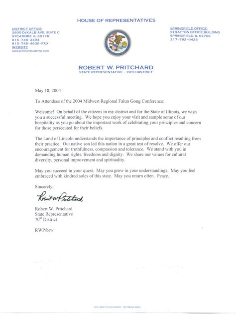 sample letter  voters   candidate  election