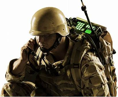 Soldier Transparent Army Military Gun Face Weapon