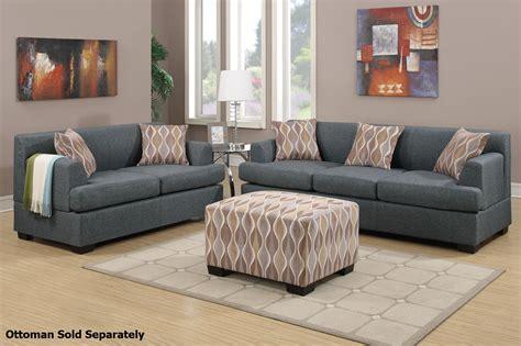 gray sofa and loveseat set montreal grey fabric sofa and loveseat set steal a sofa