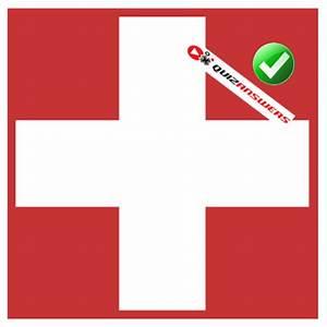 Logo quiz level 2 red box white cross