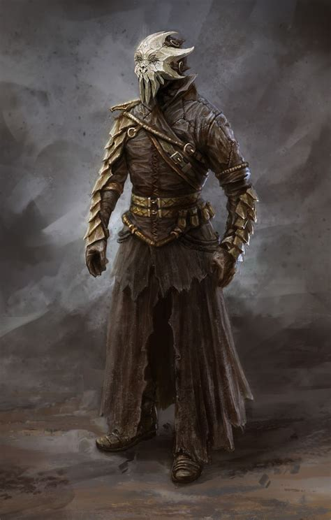 Concept From Bethesdas Skyrim Characters Villains