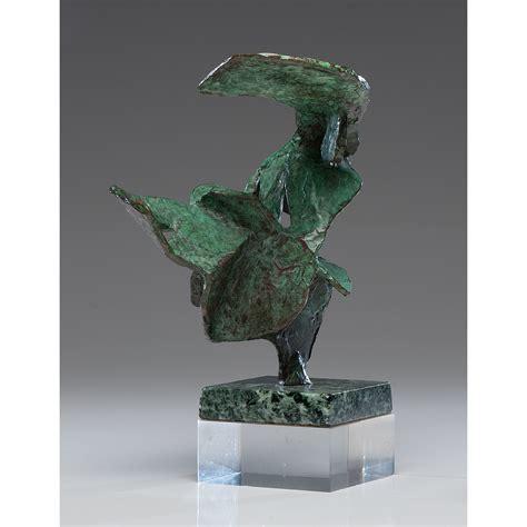 mid century modern abstract bronze sculpture cowans