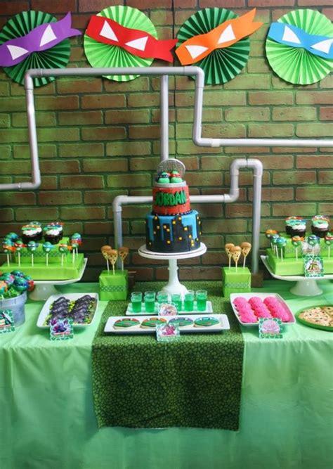 cumpleaños infantiles de las tortugas ninja pequeocio