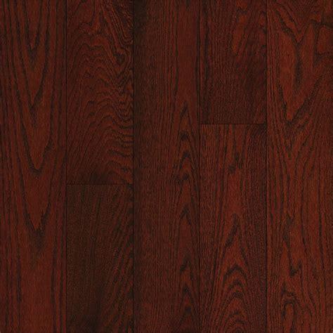 cherry wooden flooring shop bruce oak hardwood flooring sle cherry at lowes com