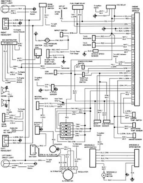 86 Ford Truck Radio Wiring Harnes Diagram by Ford F 250 1986 Engine Module Wiring Diagram All