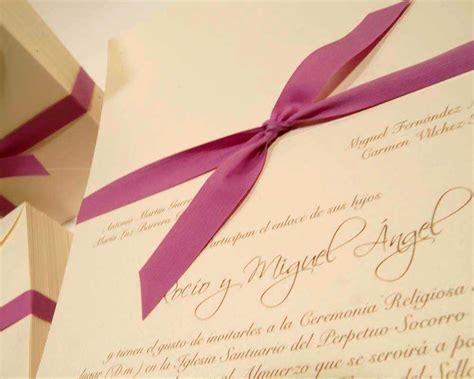 formato de invitaciones de boda partes de boda con estilo somos novios