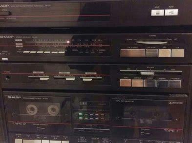 vintage sharp  fi system  turntable  sale