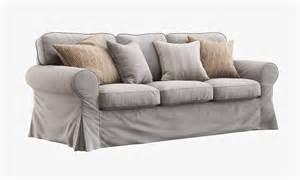 ikea ektorp 3er sofa 3d ikea ektorp sofa model
