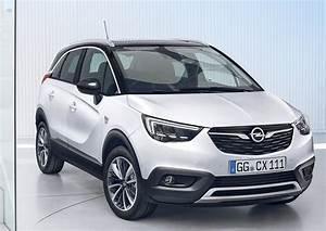 Opel Crossland 2018 : 2018 opel crossland x autonewcarsblog ~ Medecine-chirurgie-esthetiques.com Avis de Voitures