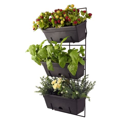whites outdoor garden up herb up secure wall mount