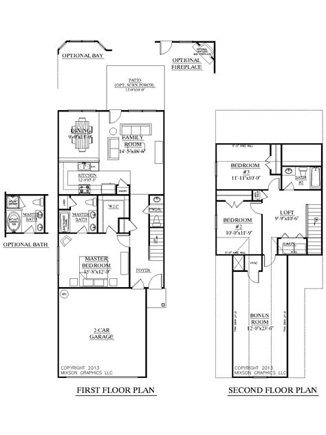 house plans for narrow lots with front garage houseplans biz house plan 1481 b the clarendon b