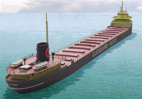 Boat Ore aft view of