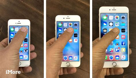 how big is iphone 5 screen iphone se screen sizes and interfaces compared imore