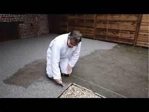 Resine Pour Gravier : resine graviers decorative youtube ~ Premium-room.com Idées de Décoration