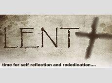 Opportunites for Lent St Catherine's Church