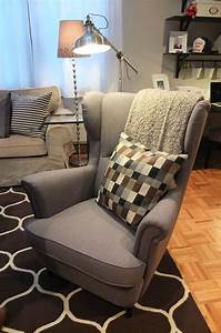 The IKEA STRANDMON Wing Chair Is A Comfortable Piece With