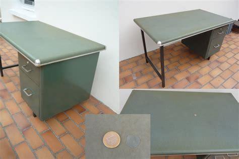 cuir pour bureau ancien meubles vintage