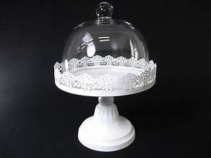 Cloche à Gateau : support a gateau avec cloche verre 20cmx28cm 1233 viva la fiesta vente d 39 articles de f te et ~ Teatrodelosmanantiales.com Idées de Décoration