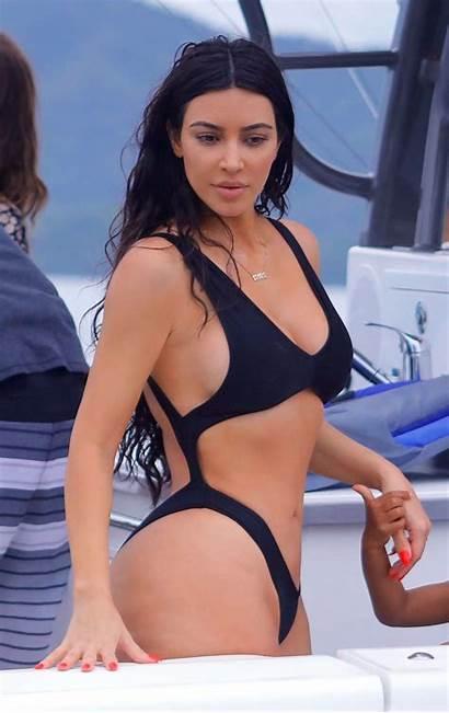 Kardashian Kim Booty Boobs Costa Rica Bikini