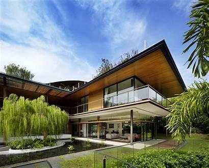 Tropis Guz Arsitektur Architects Ficus Konsep Gilberte