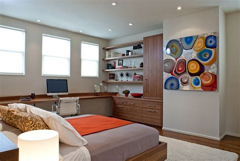 Desk In Bedroom Ideas by 25 Creative Bedroom Workspaces With Style And Practicality