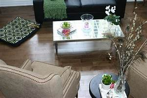 Diy mirrored coffee table eclectic coffee tables for Homesense coffee table