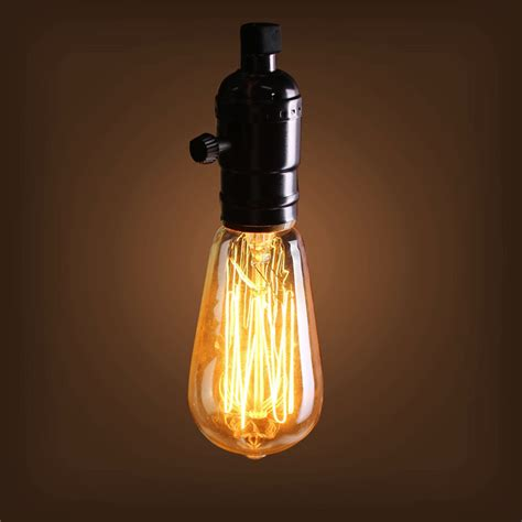 other outdoor lighting 40w e27 st58 edison bulb antique
