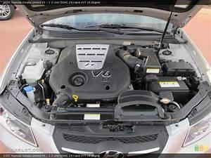 3 3 Liter Dohc 24 Valve Vvt V6 Engine For The 2007 Hyundai Sonata  60913479