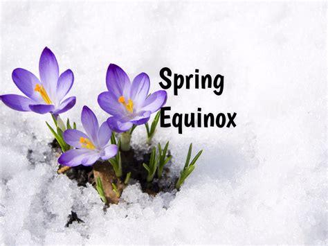 spring equinox vernal equinox