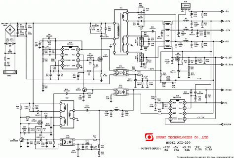 Sunny Atx Power Supply Sch Service Manual Download